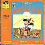 Livre-Disque Pinocchio (Vinyle 45 Tours)
