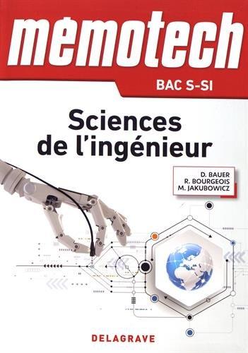Sciences de l'ingnieur 1re et Tle S