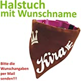 Hundehalstuch mit Wunschname Gr. L --- Wunschangaben separat als Mail ...