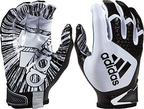 adidas Erwachsene ScorchLight 5.0 Receiver Handschuhe, Unisex, weiß/schwarz, Medium -
