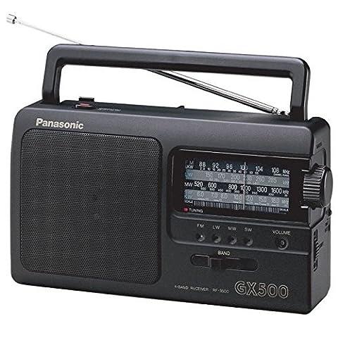 Panasonic RF-3500 Portable 4 Band FM/LW/MW/SW Radio -
