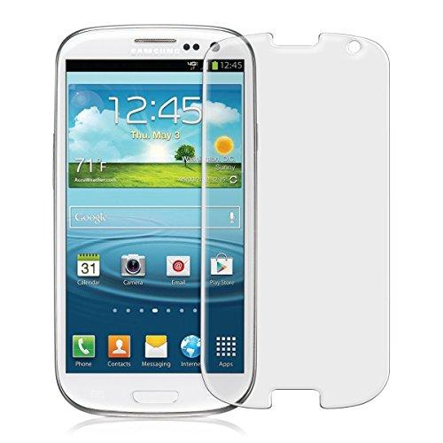 kwmobile Glas Bildschirmschutz matt & entspiegelnd für Samsung Galaxy S3 / S3 Neo (Kleiner als das Bildschirm, da Dieses gewölbt ist) - Schutzglas Schutzfolie Bildschirmschutzfolie