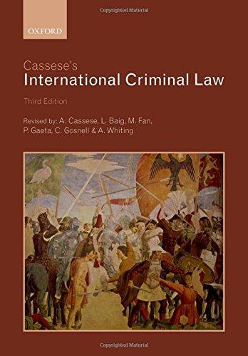 Cassese's International Criminal Law por Antonio Cassese