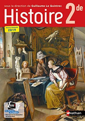 Histoire 2de collection G. Le Quintrec - manuel élève (nouveau programme 2019)