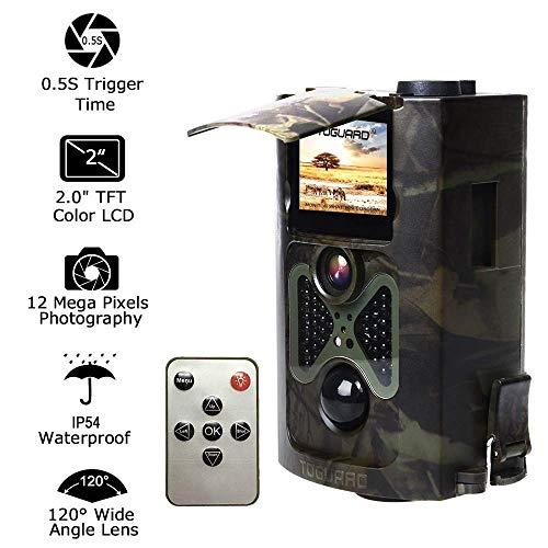 OOFAYWFD Jagdkamera-Automatisches Weitwinkel-Infrarot-Thermosensitive Kamera bringt Bilder durch Mobile Geräte auf GSM Network (Kameras Trail Bushnell)