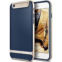 Funda iPhone 6S Plus, Caseology [serie Wavelength] delgada doble capa con proteccion de buena calidad y sujecion tactil 3D [Azul Marino - Navy Blue] para el Apple iPhone 6S Plus (2015) & iPhone 6 Plus (2014)