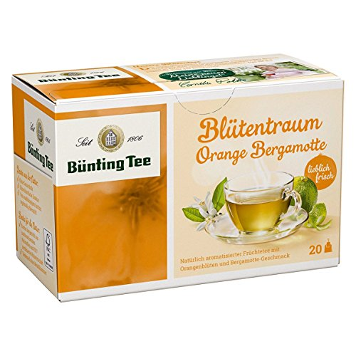 Bünting Tee Blütentraum Orange-Bergamotte, 1er Pack - Bergamotte Und Orange