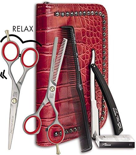 "Jaguar Pre Style Relax Set Haarschere 5,5"" Modellierschere 5,5"" satiniert /8374"