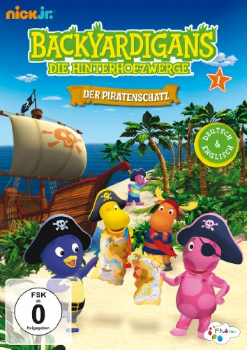Backyardigans - Der Piratenschatz (Teil 1) - Dvd Backyardigans