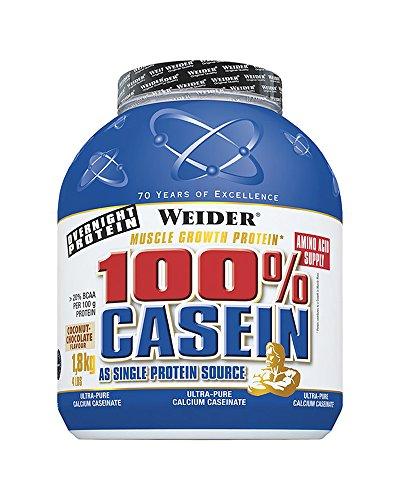 Weider, Day & Night Casein Protein, Schoko-Sahne, 1er Pack (1 x 1,8 kg)