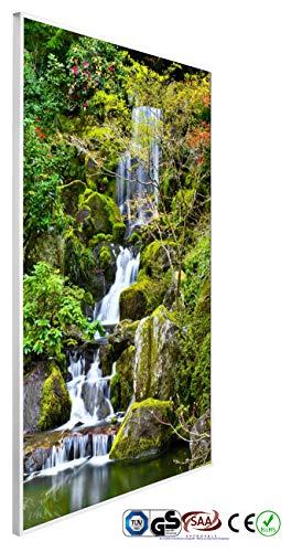 INFRAROT-HEIZUNG 600W- 60x100 cm-Bild-Heizung Heiz-Panel Elektro-Heizung Heiz-Körper Heiz-Strahler Heiz-Platte Strahlungsheizung Flach Zertifikate TÜV GS ROHS SAA CE-Garantie 5 Jahre