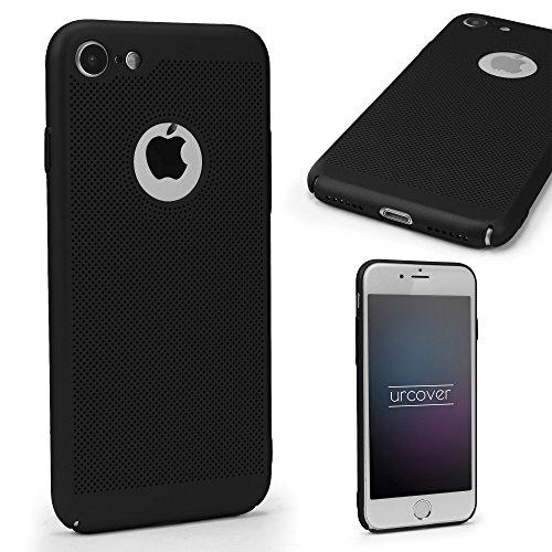 Apple iPhone 7 Ultra Slim Hardcase von Urcover® in Schwarz I Case Handyhülle Handy-Cover Schutz-Hülle Schale Zubehör