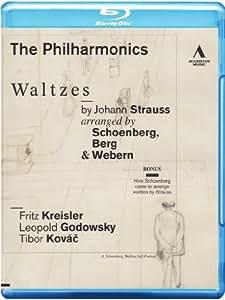 Waltzes by Johann Strauss (The Philharmonics) (Arranged by Schoenberg, Berg and Webern) (Accentus: ACC10228) [Blu-ray] [2011] [Region Free]