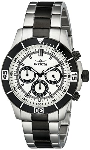 Invicta Specialty Analog Silver Dial Men's Watch - 12843 image