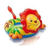 Einstellbare aufblasbare, 2-6 Jahre alte Childs Kinder Aufblasbare Tier Schwimmen Ring Schwimmen Planschbecken Spielzeug- add Senden Sie Luftpumpe ( Baby Kinder Schwimmen Ring Float Pool (Farbe : C)