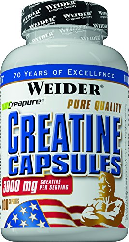 Weider Pure Creatine, Neutral, 100 Kapseln (1 x 124 g)
