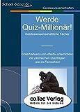 Werde Quiz-Millionär! Geisteswissenschaftliche Fächer. CD-ROM.  (Lernmaterialien)