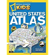 National Geographic Kids United States Atlas by National Geographic (2012-07-10)