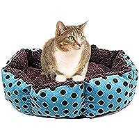 Mackur Katzenbetten Haustierbett Baumwolleh Cozy Nest-Matten Auflage für Katzen Katzenbett 36 * 30CM 1 Stück (#3)