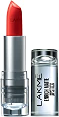 Lakme Enrich Matte Lipstick, Shade RM14, 4.7g