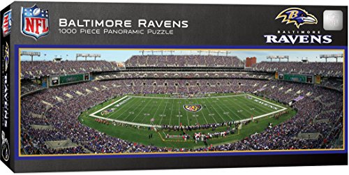 Masterpieces NFL Stadion Panorama Puzzle, 1000Teile, Ravens