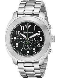 af6a64b9d3b0 Emporio Armani Hombres de plata reloj de deporte Ar6056