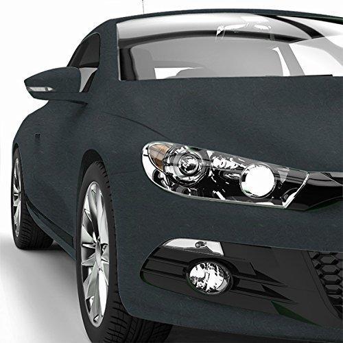 Car Wrapping Folie matt - Autofolie - Blasenfrei - 152cm - 970RA -093M-Anthrazit Metallic Größe 9 Meter