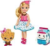 Mattel Barbie Dreamtopia Chelsea und 2 süße Milch- und Keks-Freunde