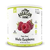 Augason Farms Freeze Dried Whole Raspberries #10 Can, 8 oz by Augason Farms