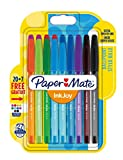 PaperMate InkJoy 100 CAP Capped Ball Pen with 1.0 mm Medium Tip - Assorted Colours, Pack of 20 + 7