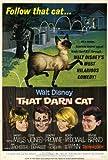That Darn Cat Poster Movie 27 x 40 In - 69cm x 102cm Hayley Mills Dean Jones Dorothy Provine Neville Brand Elsa Lanchester Frank Gorshin