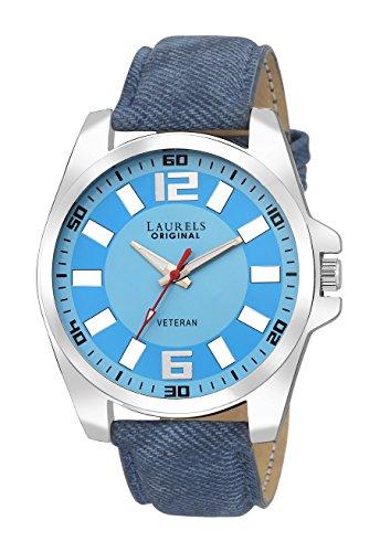 Laurels Gatsby Analog Blue Dial Men\'s Watch - Lo-Gt-203