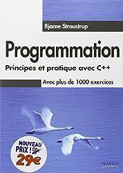 Programmation principes et pratique avec c++ nouveau prix