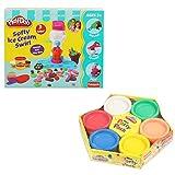 #7: Combo of Funskool Play-Doh Mini Party Pack & Funskool Play- Doh Ice Cream Swirl