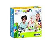 Beleduc - Find Monty - Lernspiel für Zuhause - Bekannt aus dem Kindergarten