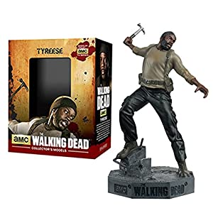 Figura de plomo y resina The Walking Dead Collector's Models Nº 5 Tyreese 9