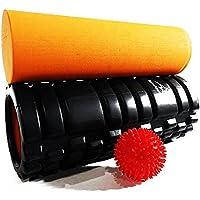 Get Fit con nuestro rodillo de espuma Bundle (incluye bola de masaje de los puntos gatillo)