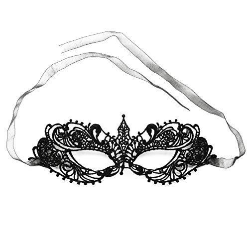 Oblique Unique® Venezianische Gesichts Augen Maske - Maske wählbar (Model 7) (Kostüm Für 50 Shades Of Grey)