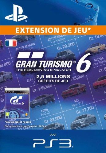 2,5 millions crédits de jeu pour Gran Turismo 6 [Téléchargement]