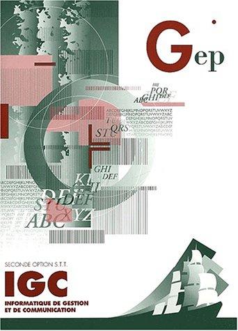 IGC 2e option STT : Enoncé