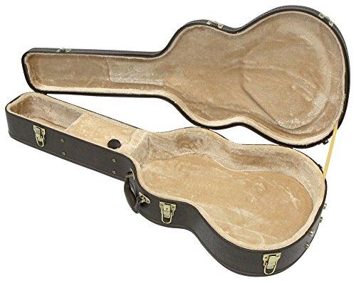 Gewa 523632 Gitarrenetui Westerngitarre Arched Top Prestige Brown Edition