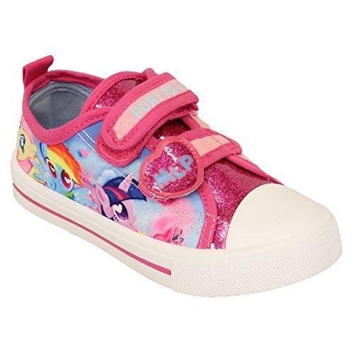bambine ragazze ANNA ELSA PAW da PATTUGLIA TELA Mio Piccolo Pony Scarpe Sportive Scarpe PUMP NUOVO Rosa - MLPLYNMOUTH