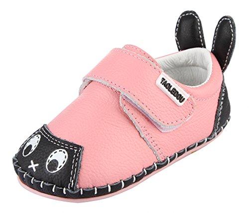 25ea9ccf18810 Y-BOA Chaussures Chaussons Motif Lapin Antidérapant Garçon Fille Bébé  Premiers Pas Cuir Souple