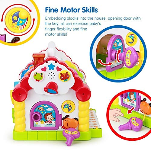 Webby Amazing Learning House Baby Birthday Gift For 1 2 3 Year Old Boy Girl