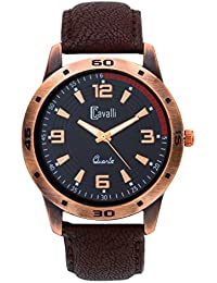Cavalli Analogue Black Dial Men'S And Boy'S Watch-CW087