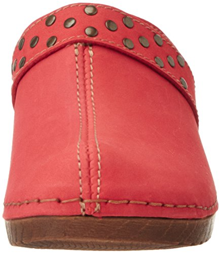 Jana 27304, Sandales Bout Ouvert Femme Rouge (Red 500)