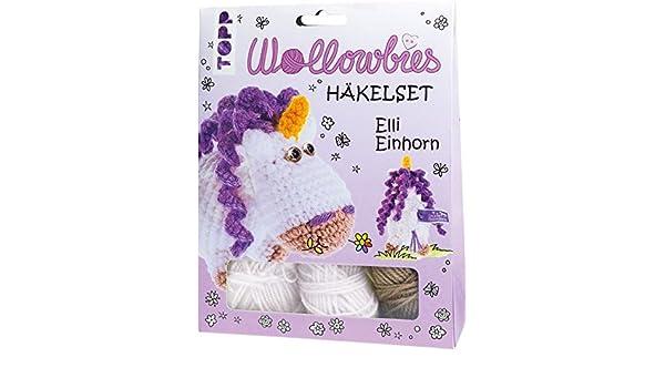 Fabelhafte Wollowbies Häkelset Elli Einhorn Ve4 Ex Anleitung