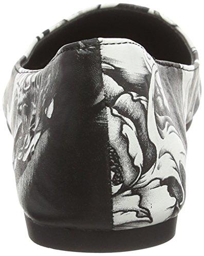 Iron Fist Damen Original Sin Flat Pumps Weiß