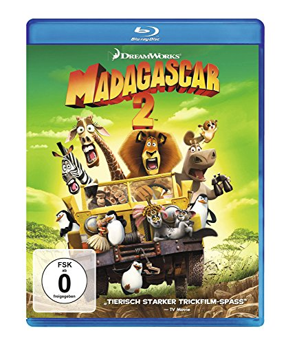 Madagascar 2 [Blu-ray] (Madagascar 2 Blu Ray)