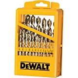 DEWALT DW1969 29 Piece Pilot Point Twist Drill Bit Assortment with Metal Index